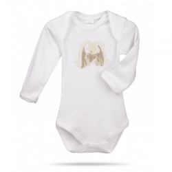 Lait Baby Organic Body Long Sleeve Ears the Bunny