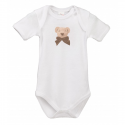 Lait Baby Organic Body Short Sleeve Cubby the Teddy