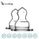 Eco Viking  Antykolkowy Ortodontyczny Smoczek Silikonowy Stage 1 dla Noworodków