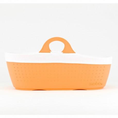 Moba Moses Basket Tangerine