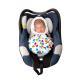 Snugglebundl baby blanket Funky Spots 4