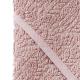 Filibabba Bathtowel Indian Dusty Rose Ręcznik organiczny z kapturem faktura materiału