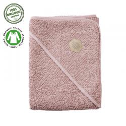 Filibabba Bathtowel Indian Dusty Rose Ręcznik organiczny z kapturem