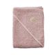 Filibabba Bathtowel Indian Dusty Rose Ręcznik organiczny z kapturem 2