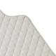 Filibabba Quilted Changingmat Indian Warm Grey Mata do przewijania z bawełny organicznej faktura materiału