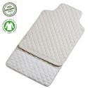 Filibabba Quilted Changingmat Indian Warm Grey Mata do przewijania z bawełny organicznej