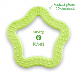 Bioserie Teether Star Lime