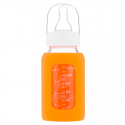 Eco Viking Antykolkowa Butelka Szklana dla Niemowląt 120 ml Orange