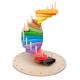 organic Woodboon Wieża Paleta Barw Puzzle Układanka Edukacyjna 4