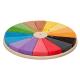 organic Woodboon Wieża Paleta Barw Puzzle Układanka Edukacyjna 2