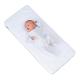 Little Chick London Oddychający materac do łóżeczek dostawnych
