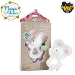 Meiya & Alvin - Meiya Mouse Organic Rubber Teether zwycięzca konkursu ZABAWKA ROKU 2016