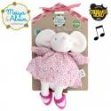 Meiya & Alvin - Meiya Mouse Musical Lulluby Doll with Soft Head