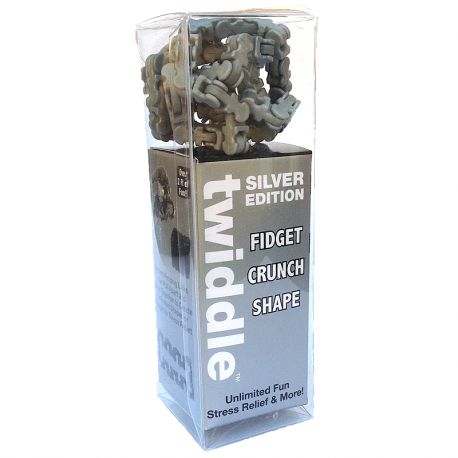 Fidget Twiddle Silver 1