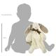 Maud N Lil Ears The Bunny Comforter Organiczny Mięciutki Pocieszyciel wielkość