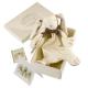 Maud N Lil Ears The Bunny Comforter Organiczny Mięciutki Pocieszyciel w pudełeczku