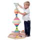organic Woodboon RAINBOW Wielka Tęczowa Wieża Układanka Edukacyjna 2
