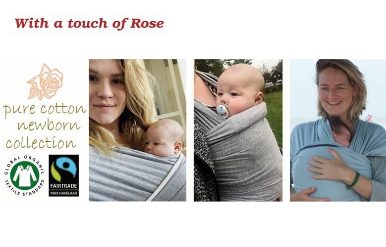 Witha a touch of Rose - organiczne śpiworki i chusty dla Niemowląt