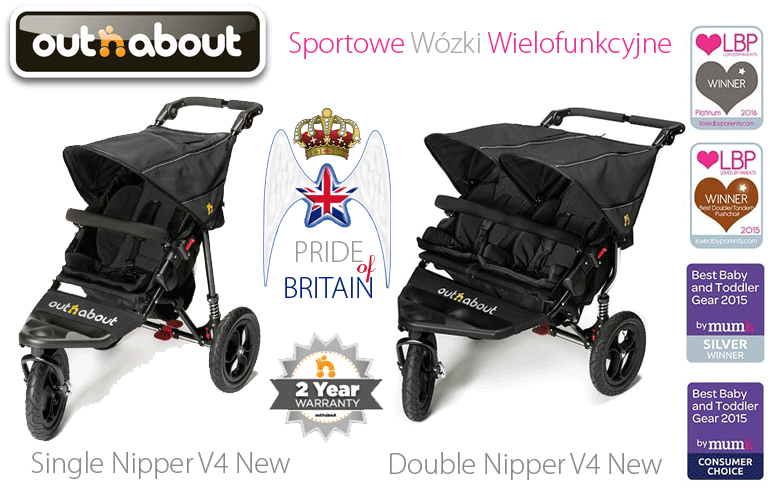 Out'n'About Nipper V4 New Collection