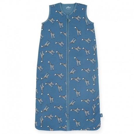 Jollein - Śpiworek niemowlęcy letni Summer GIRAFFE Jeans Blue 110 cm