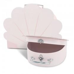 Jollein - 2 walizeczki Muszelki Pale Pink