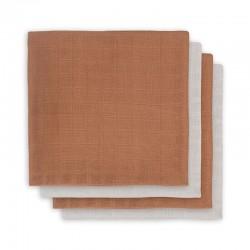 Jollein - 4 pieluszki bambusowe 70 x 70 cm Caramel