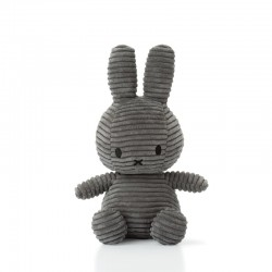 Miffy - Corduroy DARK GREY przytulanka 23 cm
