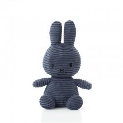 Miffy - Corduroy DARK BLUE przytulanka 23 cm