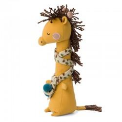 Picca LouLou - Przytulanka Żyrafa Danny w szaliczku 30 cm