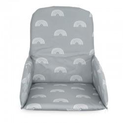 Jollein - Poduszka stabilizująca do krzesełek do karmienia Rainbow grey