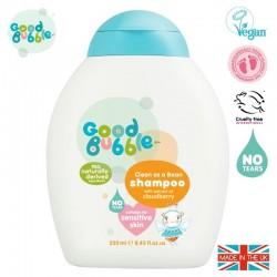 Good Bubble Wegański organiczny szampon dla Noworodka i Niemowlaka Cloudberry 250 ml