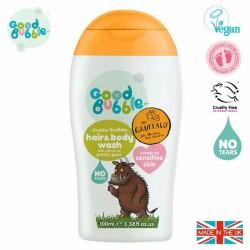 Good Bubble Gruffalo Wegański organiczny żel do mycia włosów i ciała Noworodka i Niemowlaka Prickly Pear 100 ml