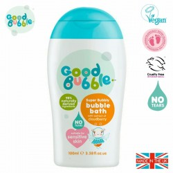 Good Bubble Wegański organiczny płyn do kąpieli Noworodka i Niemowlaka Cloudberry 100 ml