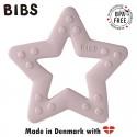 BIBS BABY BITIE STAR Pink Plum gryzak dla niemowlaka