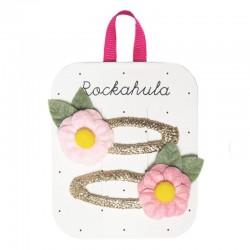 Rockahula Kids - 2 spinki do włosów Secret Garden Flower