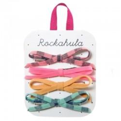 Rockahula Kids - 4 spinki do włosów Happy Days Skinny Bow