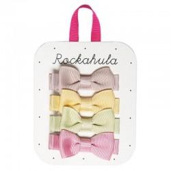 Rockahula Kids - 4 spinki do włosów Secret Garden Mini Bow