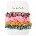 Rockahula Kids - 4 gumki do włosów Happy Days Scrunchie
