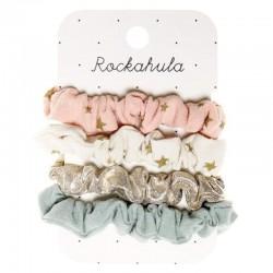 Rockahula Kids - 4 gumki do włosów Scattered Stars Scrunchie