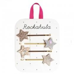 Rockahula Kids - 4 wsuwki do włosów Stardust