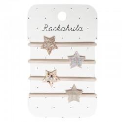 Rockahula Kids - 4 gumki do włosów Stardust Pony