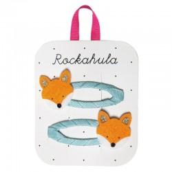 Rockahula Kids - 2 spinki do włosów Felix Fox