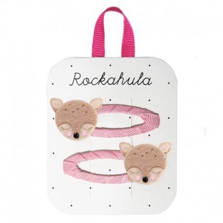 Rockahula Kids - 2 spinki do włosów Oh My Deer!