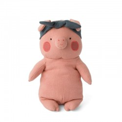 Picca LouLou - Przytulanka Pani Świnka w opasce 22 cm