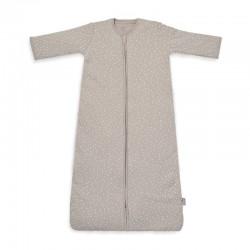 Jollein - Śpiworek niemowlęcy całoroczny 4 Pory Roku 2 śpiworkowy Spickle Nougat 90 cm