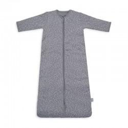 Jollein - Śpiworek niemowlęcy całoroczny 4 Pory Roku 2 śpiworkowy Spickle Grey 90 cm