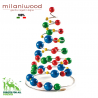 milaniwood multicolour christmas tree