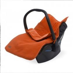 Jollein - Śpiworek oddychający do wózka i fotelika Brick velvet rust