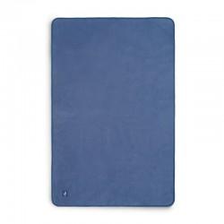 Jollein - Kocyk bawełniany 100 x 150 cm Jeans Blue