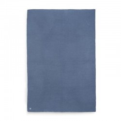 Jollein - kocyk tkany 75 x 100 cm Basic Jeans Blue